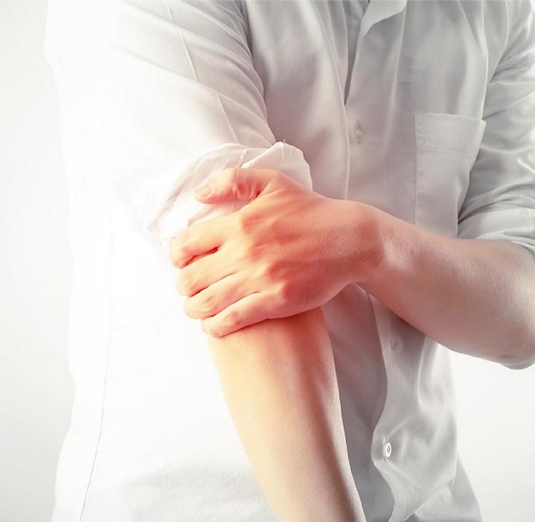 肘の痛みと筋肉